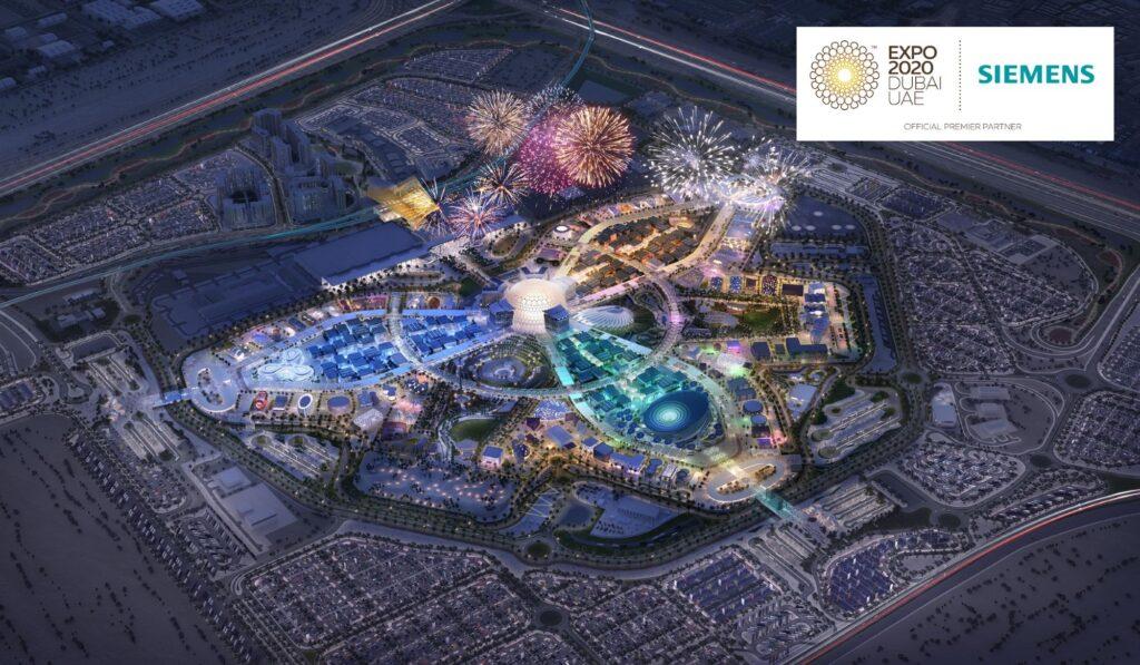 """ซีเมนส์ขับเคลื่อน Smart City แห่งอนาคต ด้วยเทคโนโลยีสุดล้ำใน """"เอ็กซ์โป 2020 ดูไบ*"""""""